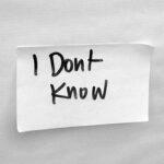 """Што се крие зад константното """"не знам""""?"""