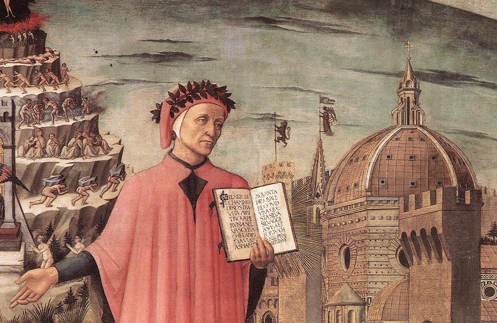 Критичкиот став на Данте