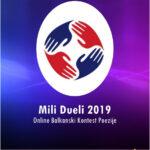 Започна првиот круг на најголемиот балкански онлајн натпревар за најдобра поезија – Мили Дуели!