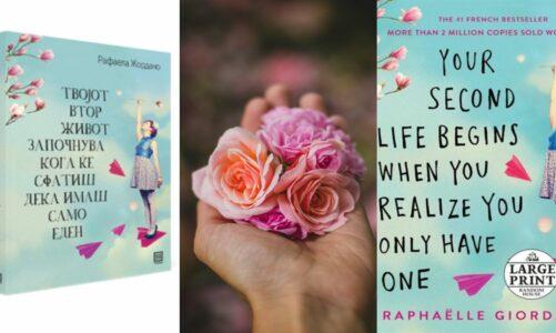Твојот втор живот започнува кога ќе сфатиш дека имаш само еден – предлог книга