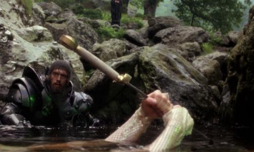 Легендата за двата меча на кралот Артур