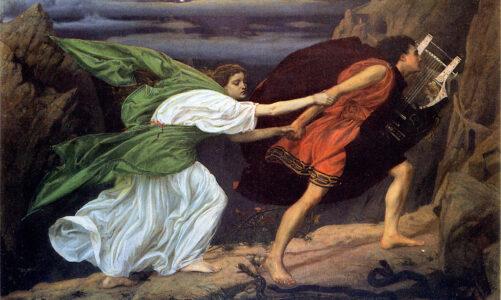 Митот за Орфеј и Евридика