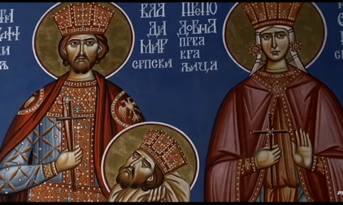 Легендата за Јован Владимир и Теодора Косара