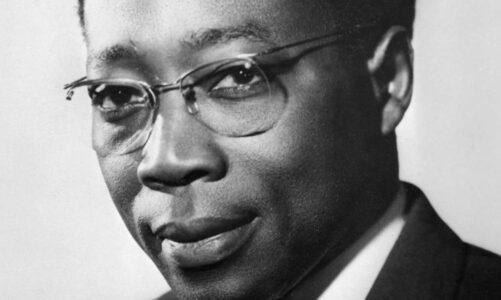 Леополд Седар Сенгор – сенегалски поет , прв претседател на Сенегал и основач на Франкофонијата