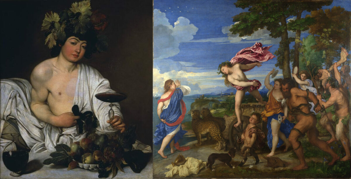 Митот за богот на виното Дионис и Дионисиските мистерии