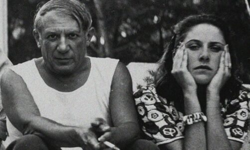 Пабло Пикасо и Дора Мар во парискиот ресторан на изгубената младост