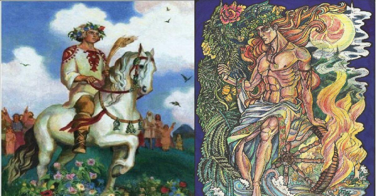 Jарило – Словенски бог на вегетацијата, војната и заштитник на слабите