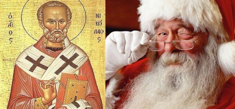 Како Свети Никола станал Дедо Мраз?