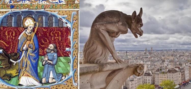 Легендата за гаргујите и Свети Роман Руански