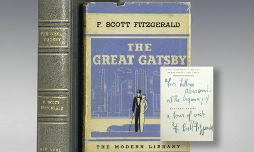 Предлог книга – Големиот Гетсби од Франсис Скот Фицџералд