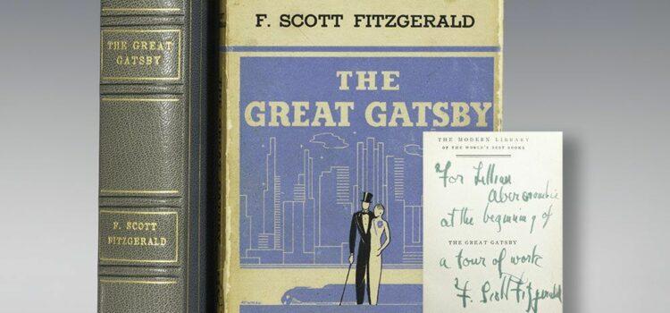Предлог книга - Големиот Гетсби од Франсис Скот Фицџералд