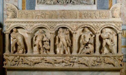 Задачите на Херакле ( 2 дел)  и како ги основал Олимиските игри