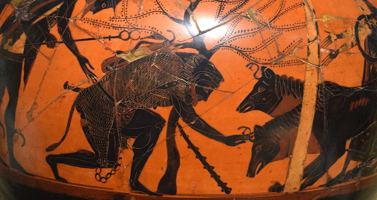 Последните 4 задачи на Херакле, меѓу кои и најтешката, заробување на Кербер