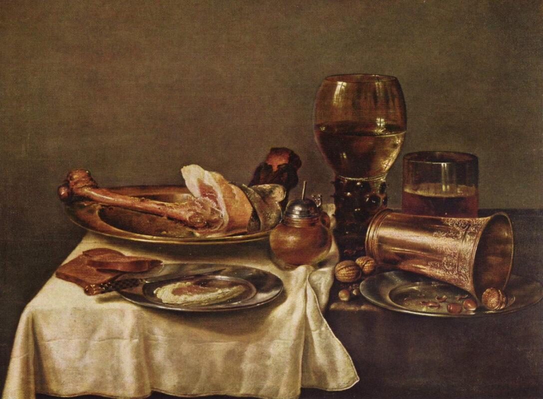 Вилем Класон Хеда, холандски уметник кој сликал мртва природа