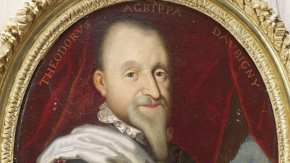 Агрипа д'Обиње - Блесокот на твоето божествено лице