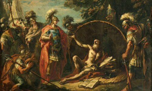 Легендата за Диоген од Синопа и Александар Велики
