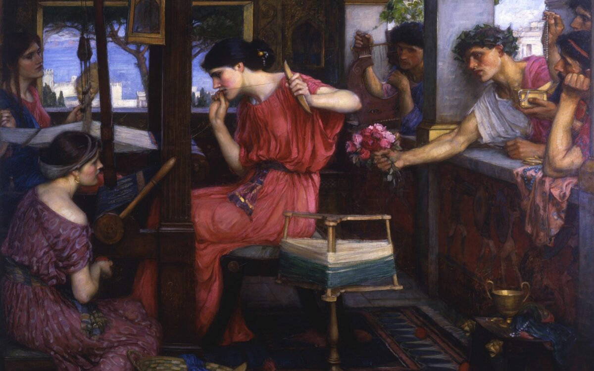 Митот за платното на Пенелопа, симбол на верната жена