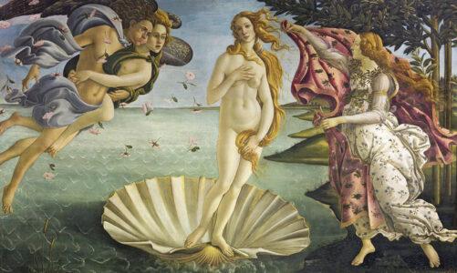 Митот за раѓањето на Афродита