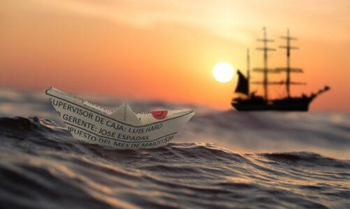 Бродот што плови