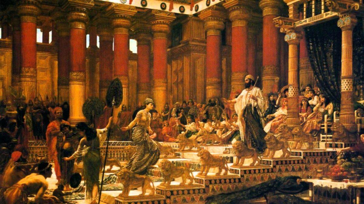 Легендата за кралицата Шеба и кралот Соломон