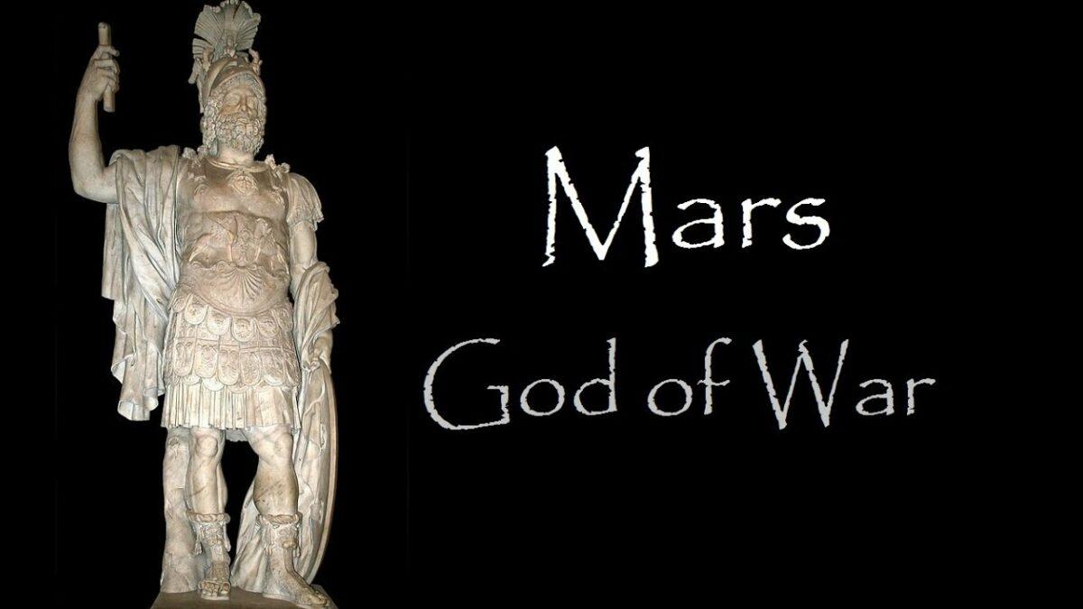 Марс, римскиот бог, татко на Римјаните
